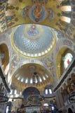 A catedral naval de São Nicolau o Wonderworker - las construídos Fotografia de Stock