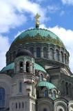 Catedral naval em Kronshtadt Foto de Stock