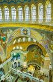 Catedral naval em Kronstadt Fotografia de Stock