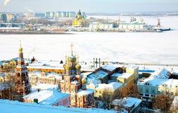 Catedral Nevsky e igreja de Stroganov Fotos de Stock Royalty Free