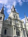 Catedral New Orleans de St. Louis imágenes de archivo libres de regalías