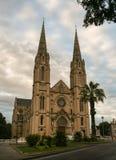 Catedral Nimes - Francia del santo-Baudile Imagenes de archivo