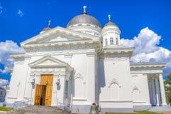 Catedral Nizhny Novgorod Rusia del salvador Foto de archivo libre de regalías
