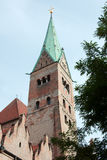 Catedral no centro de Augsburg Fotos de Stock Royalty Free