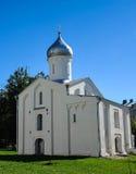 Catedral no centro de Velikiy Novgorod Foto de Stock Royalty Free