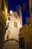 Catedral no crepúsculo. Giovinazzo. Apulia. Imagens de Stock Royalty Free