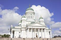 Catedral no quadrado do Senado Foto de Stock