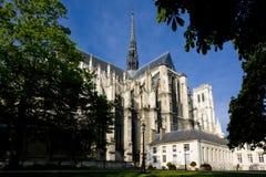 Catedral Notre Dame, Amiens, Picardía, Francia imágenes de archivo libres de regalías