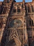 Catedral Notre-Dame de Estrasburgo Imagen de archivo libre de regalías