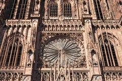Catedral Notre Dame de Estrasburgo imagen de archivo