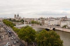A catedral Notre Dame de Paris Imagem de Stock