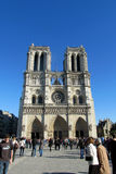 Catedral Notre Dame de Paris Imagem de Stock Royalty Free