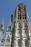 Catedral Notre Dame de Ruán Imagen de archivo libre de regalías