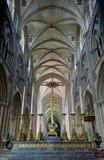 Catedral Notre Dame em Bayeux Fotografia de Stock