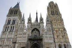 Catedral Notre Dame, Ruán, Normandía, Francia fotos de archivo libres de regalías