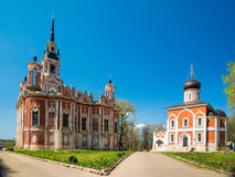 A catedral nova de Nikolsky no Kremlin de Mozhaysk, Rússia Imagem de Stock
