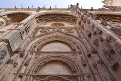 Catedral nova de Salamanca (Catedral Nueva) Fotos de Stock Royalty Free