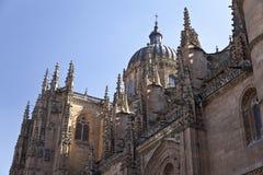 Catedral nova de Salamanca (Catedral Nueva) Imagens de Stock