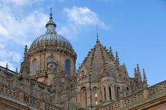 Catedral nova de Salamanca, Espanha Fotos de Stock