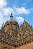 Catedral nova de Salamanca, Espanha Fotografia de Stock