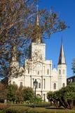 Catedral Nova Orleães de St Louis foto de stock
