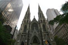 Catedral NYC do St. Patrick fotos de stock
