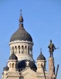 Catedral ortodoxa de Cluj Napoca Fotos de archivo libres de regalías