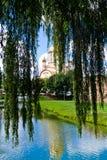 Catedral ortodoxa de Fagaras, condado de Brasov, Rumania Imagen de archivo