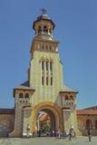 Catedral ortodoxa de la coronación, Alba Iulia, Rumania Fotos de archivo
