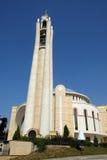 Catedral ortodoxa de la resurrección de Cristo en Tirana Imagen de archivo libre de regalías