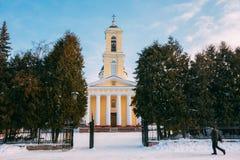 Catedral ortodoxa de San Pedro y de Paul en Gomel, Bielorrusia Fotografía de archivo