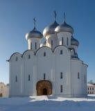 Catedral ortodoxa de Sophia, Rusia Foto de archivo libre de regalías