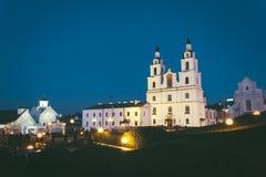 Catedral ortodoxa del Espíritu Santo en Minsk, Bielorrusia fotos de archivo