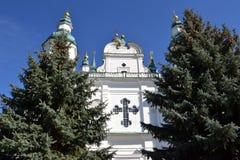 Catedral ortodoxa del siglo XVII Imágenes de archivo libres de regalías
