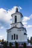 Catedral ortodoxa en la ciudad de playa fotografía de archivo libre de regalías