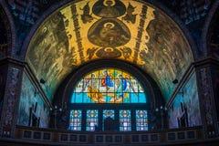 Catedral ortodoxa en Sibiu Fotos de archivo