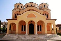 Iglesia ortodoxa en Shkoder, Albania Fotografía de archivo libre de regalías