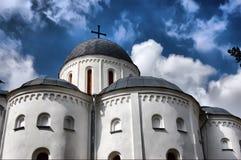 Catedral ortodoxa rusa Imagenes de archivo