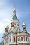 Catedral ortodoxa rusa en Viena Fotos de archivo libres de regalías