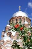 Catedral ortodoxa rusa vieja Foto de archivo libre de regalías