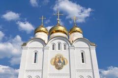 Catedral ortodoxo Fotos de Stock Royalty Free