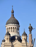 Catedral ortodoxo de Cluj Napoca Fotos de Stock Royalty Free