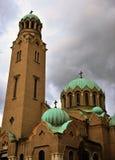 Catedral ortodoxo de Veliko Tarnovo Imagem de Stock Royalty Free
