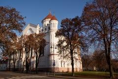 Catedral ortodoxo do Theotokos imagem de stock