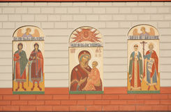 Catedral ortodoxo em Irkutsks Fotografia de Stock Royalty Free