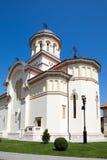 Catedral ortodoxo em Iulia alba fotos de stock