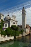 Catedral ortodoxo grega de St. George em Veneza Fotos de Stock