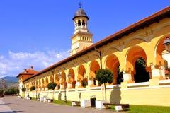 Catedral ortodoxo na fortaleza medieval Alba Iulia, a Transilvânia Imagens de Stock Royalty Free