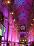 Catedral púrpura y azul Imagen de archivo
