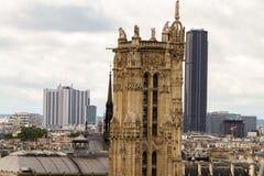 Catedral París de Notre-Dame Imágenes de archivo libres de regalías